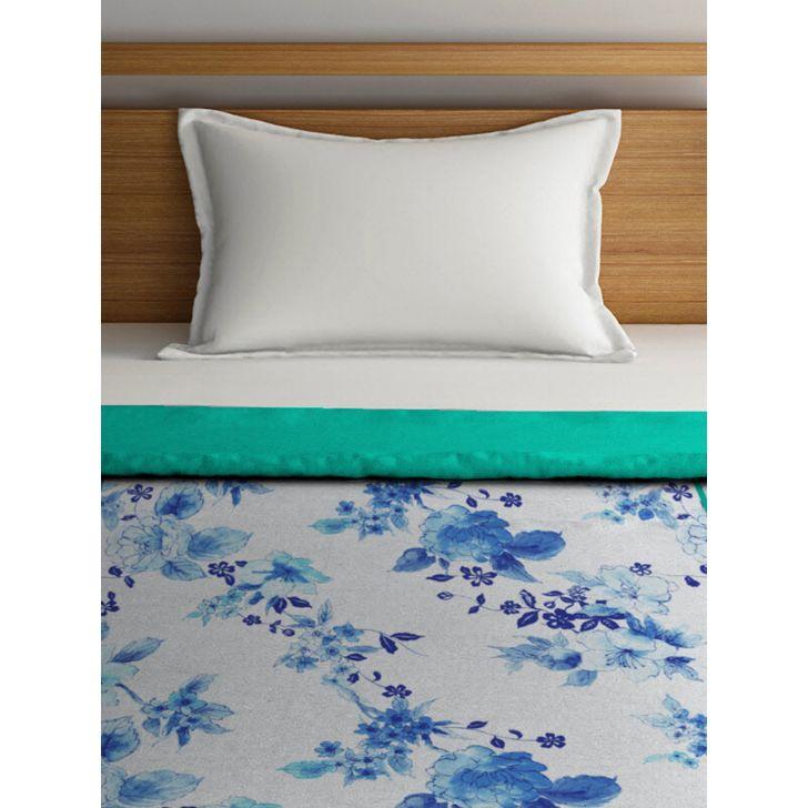 Single Dohar Slick Layus Blue Green,Dohars