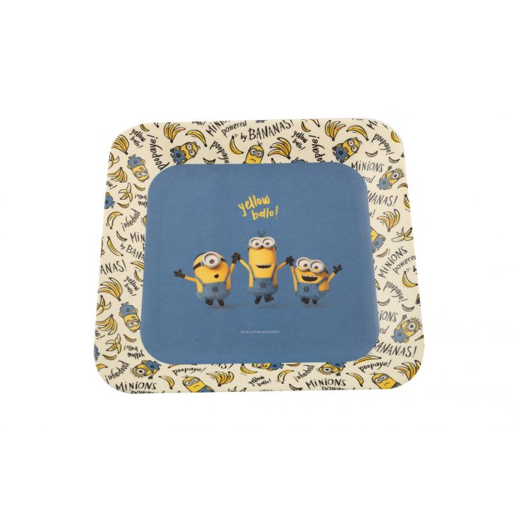 French Plate Minions,Tableware