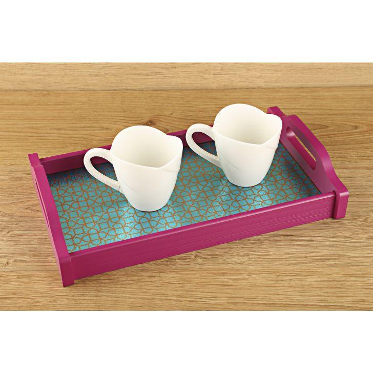 LE Elephant & Horses Small Tray,Tableware