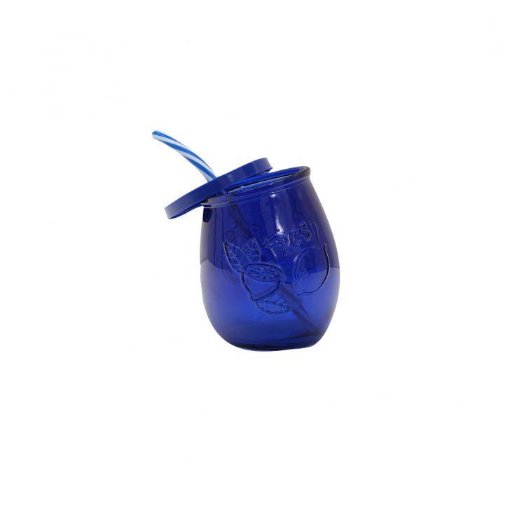 Strawberry Ultramarine Juice Jar,Sippers