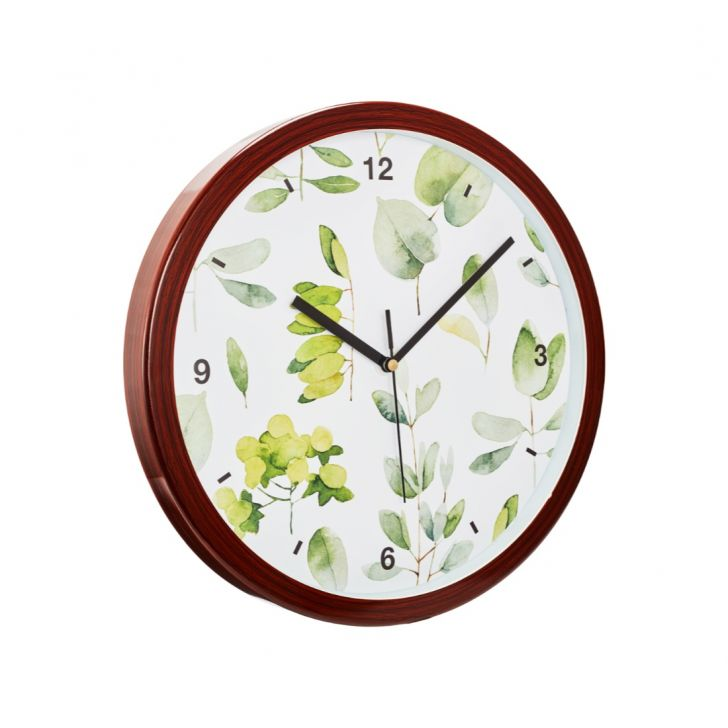 Aika Tropical Branch Leaf Clock,Wall Clocks