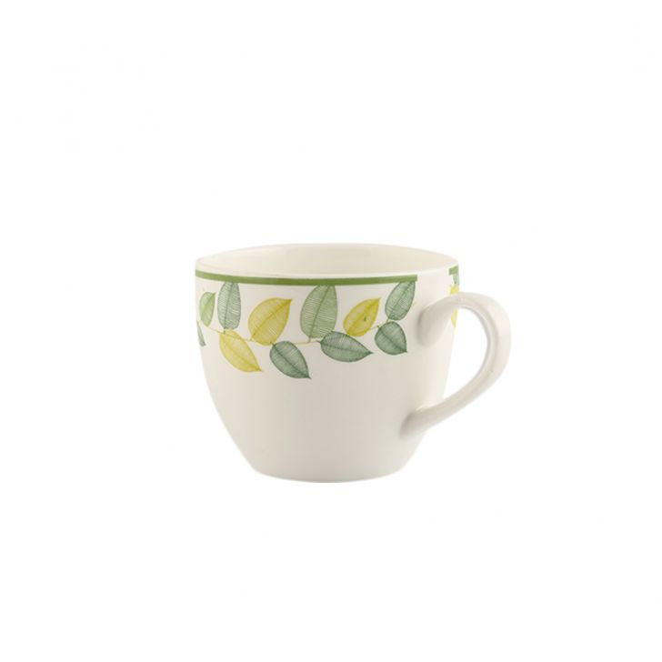 Petite Leaves Set Of 12 Cup & Saucer,Cups & Saucers