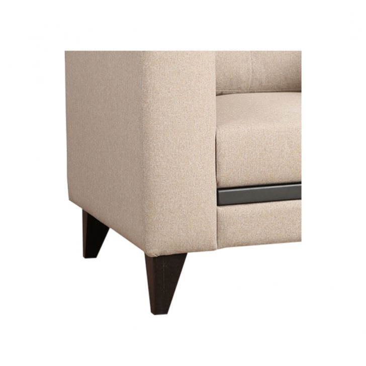 Garcia Fabric One Seater Sofa Beige,All Sofas