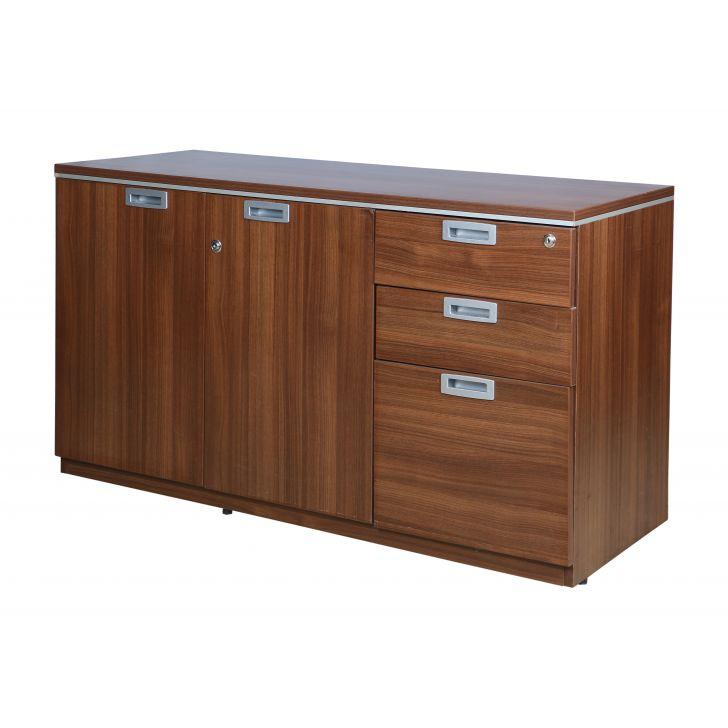 Nova Filling Cabinet in Walnut Regato Colour,Multipurpose Cabinet