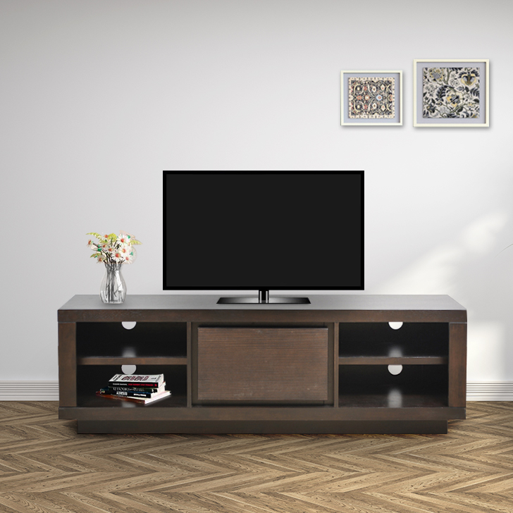 Prestige TV Unit in Brown Finish,TV Units