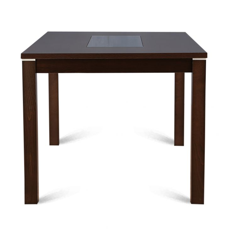 New Delton Six Seater Dining Table in Burnt Beech Finish,6 Seater Dining Table