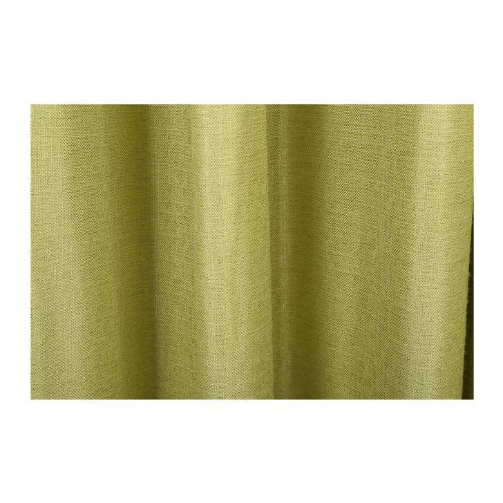 Textura Door Curtain Green Set of 2,Door Curtains