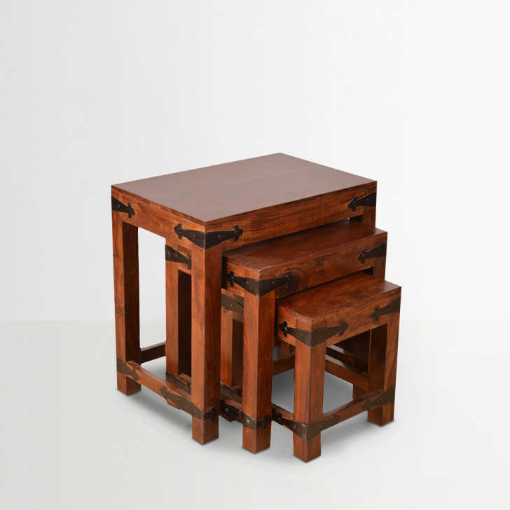 Tudor Solidwood Set of Tables,Tables