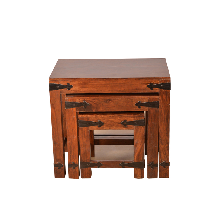 Tudor Nesting Table Brown,Tables