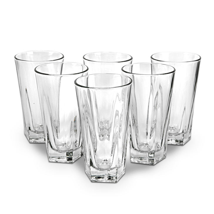 Libbey Birkdale Beverage Glass 6 Pcs,Glasses & Tumblers