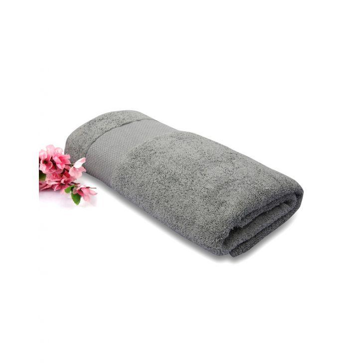 Terry Bath Towel Grey 1 Piece,Bath Towels