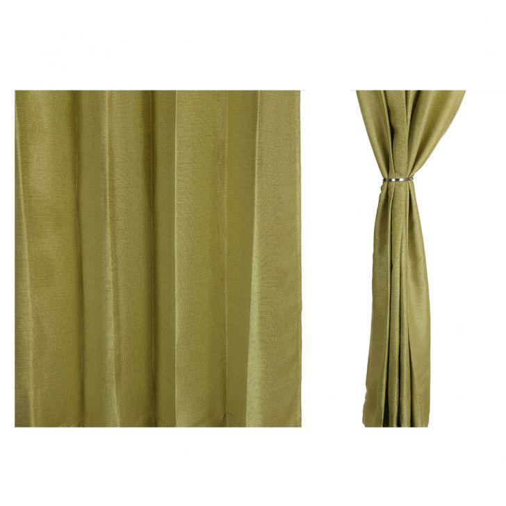 Textura Window Curtain Green Set of 2,Window Curtains