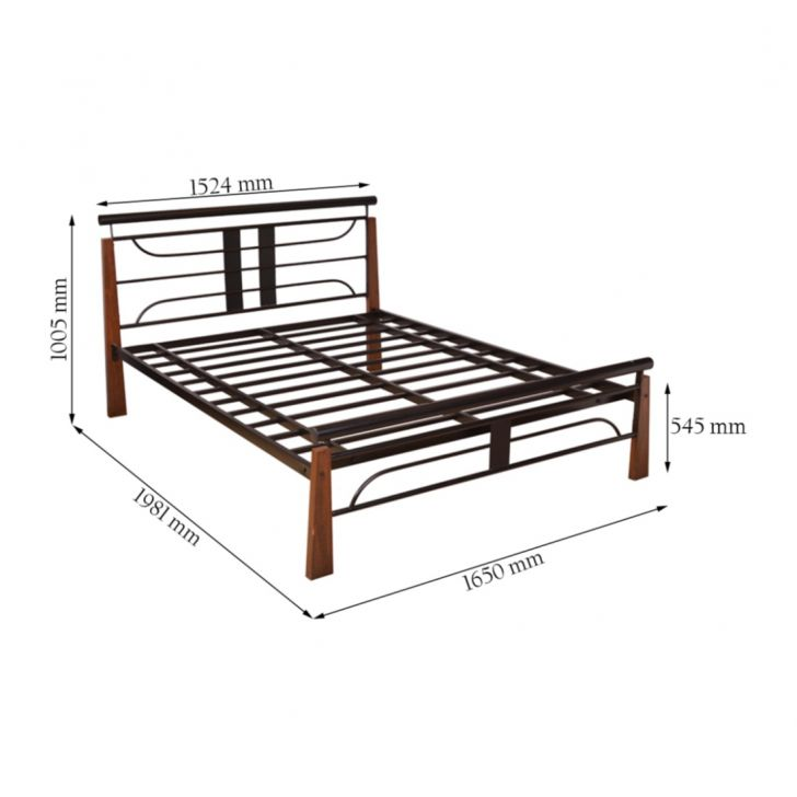 Diamond Queen Bed,HomeTown Best Sellers