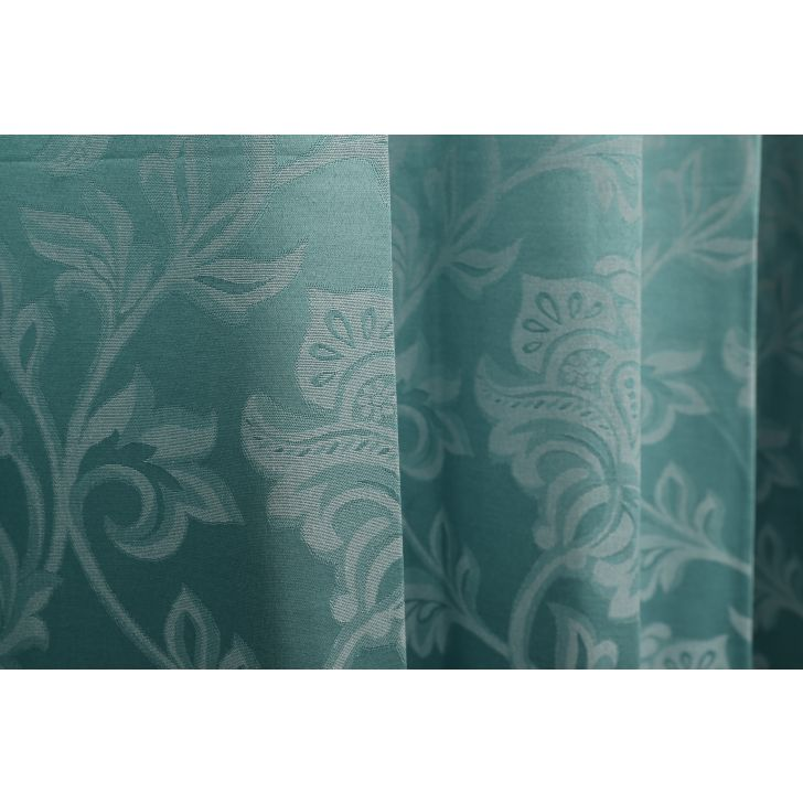 Florina Window Curtain Sea Green,Curtains