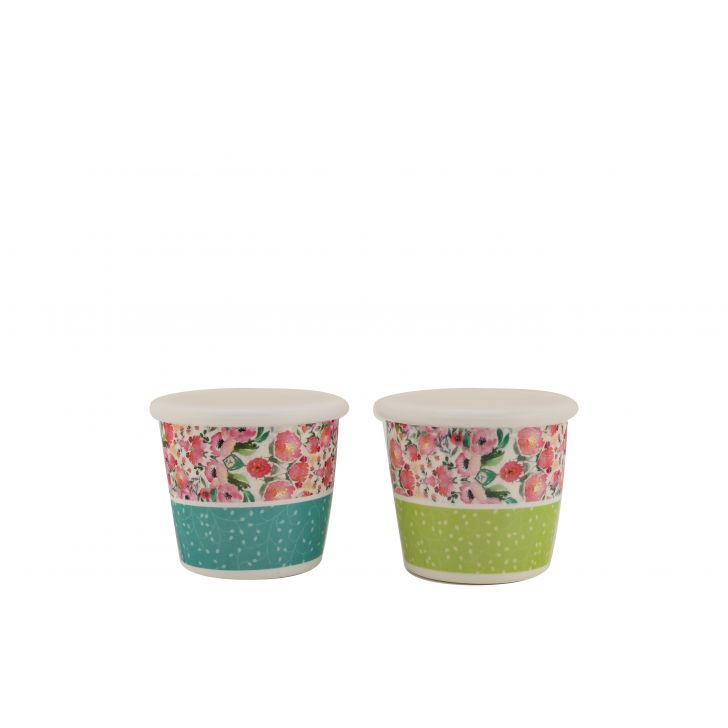 Blossom Jars Set of Two,Kitchenware