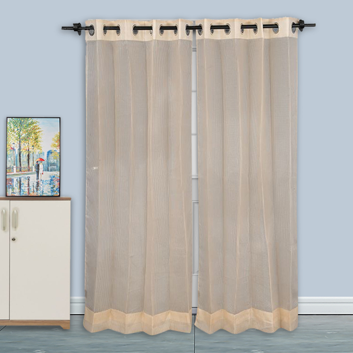 Sheer Door Curtain SIA Gold,Curtains