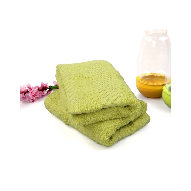 Terry 2 Piece Hand Towel Lime Green,Hand Towels