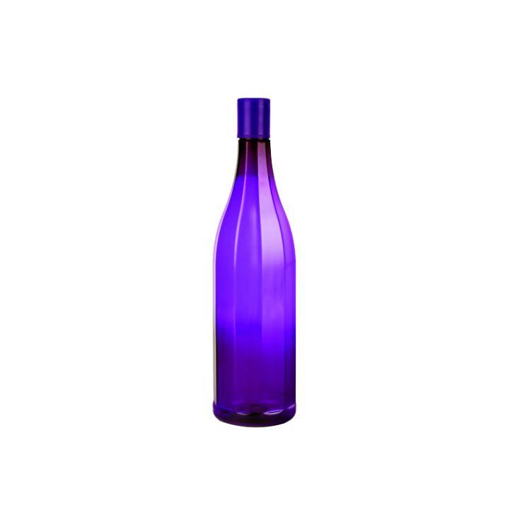 Tranquil Water Bottle 1Ltr Set Of 4 Violet,Bar & Drinkware