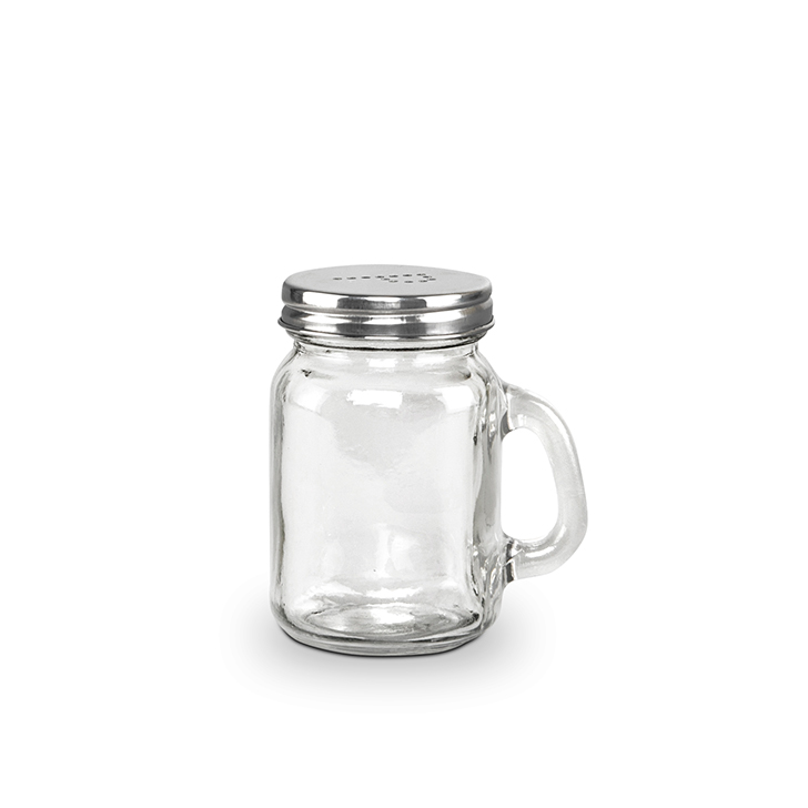 Living Essence Zibo Salt Pepper Shakers Clear 2 Pcs,Containers