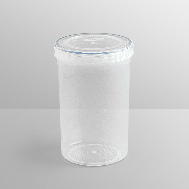 Lock & Lock Round Long Clear Container,Containers