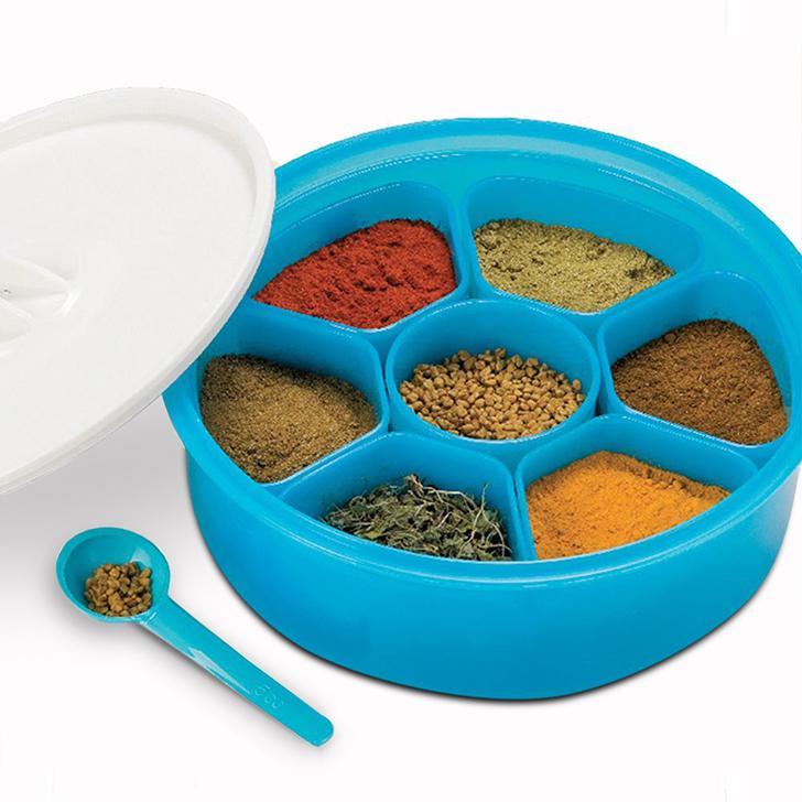 Lock & Lock Classics Round Medium Spice Kit,Containers