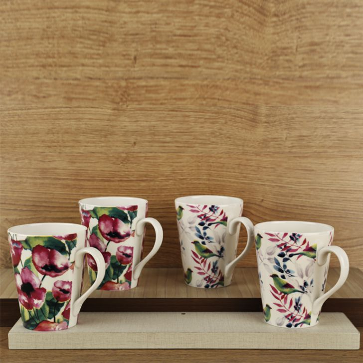 Panama Set Of 4 Mugs,Mugs & Cups