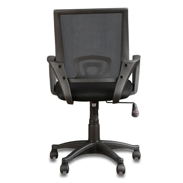 Bolton Low Back Ergonomic Chair in Black Colour,The Big Summer Sale