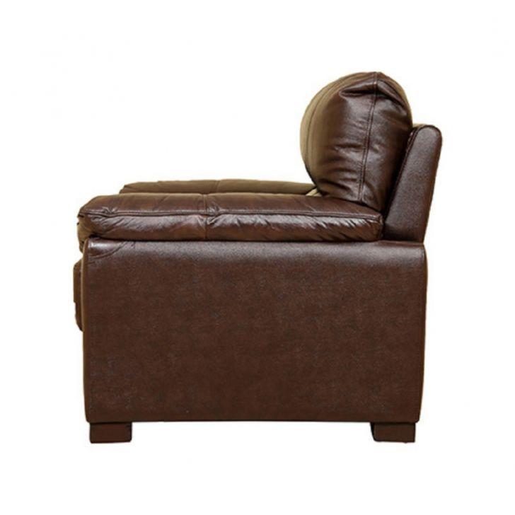 Martin Half Leather One Seater Sofa,All Sofas
