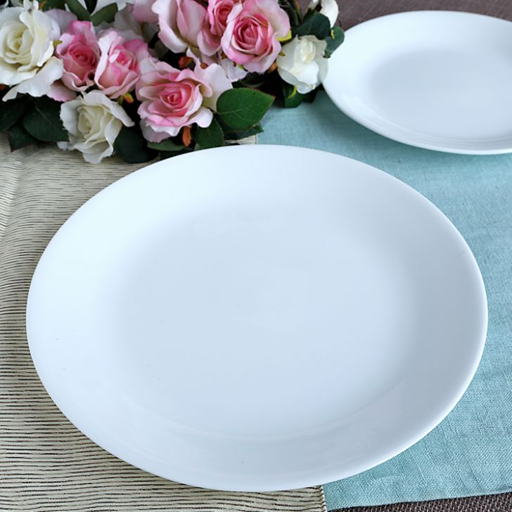 Corelle Winter Frost White Dinner PlatePlates & Buy Corelle Winter Frost White Dinner Plate Online in India ...
