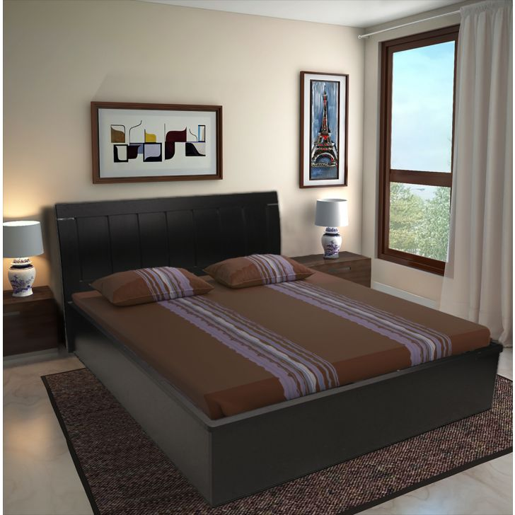 Mozart Queen Bed with Full Hydraulic Storage,Hydraulic Beds