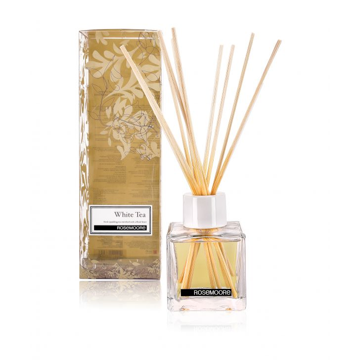 Rosemoore Blue Lavender Blue Scented Reed Diffuser For Living Room, Washroom, Bedroom, Office - 200 ML With 10 Reed Sticks,Reed Diffusers