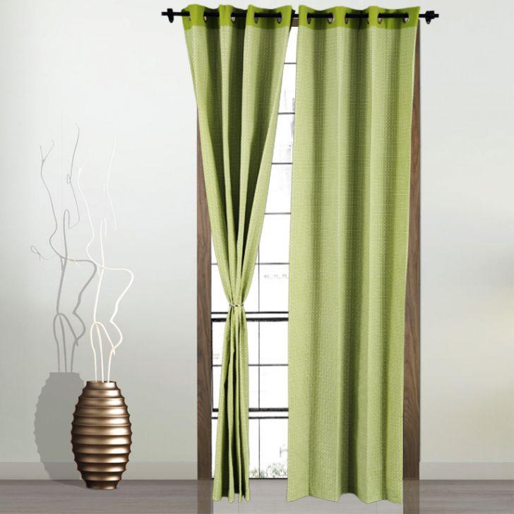 Living Essence Curtain Rio Green Cordinate,Curtains