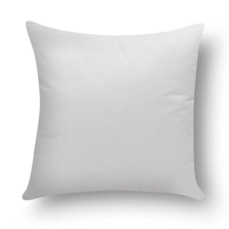Living Essence Solid Square Cushion Filler White,Home Furnishings