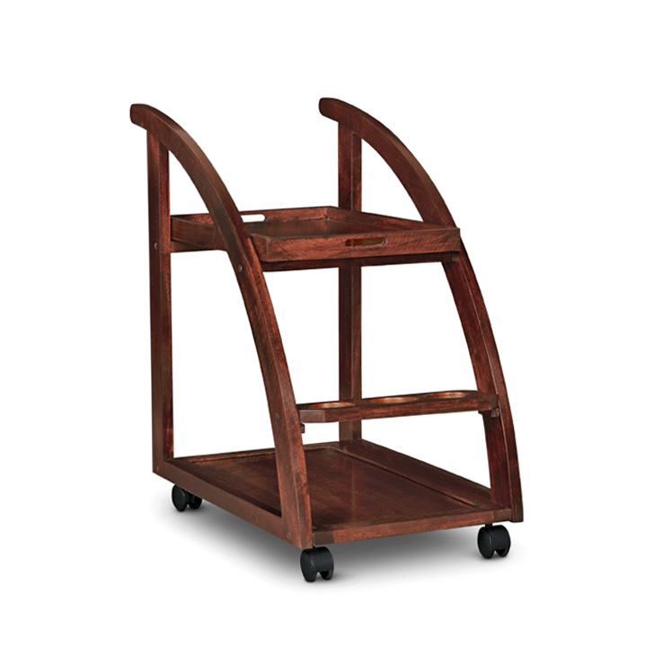 Acer Serving Trolley Rich Brown,Furniture