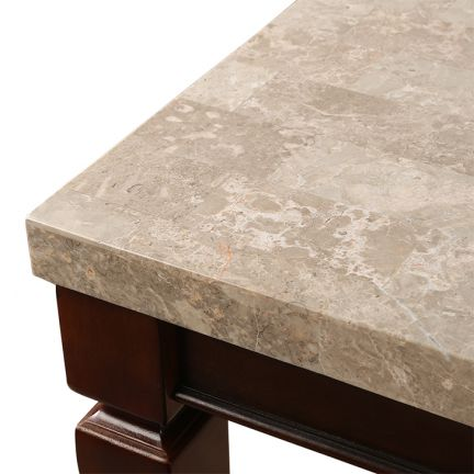 Buy Bliss 8 Seater Marble Top Dining Table Online In India