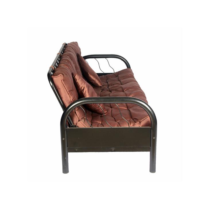 Rockford Metal Sofa Cum Bed in Mauve Colour,Furniture