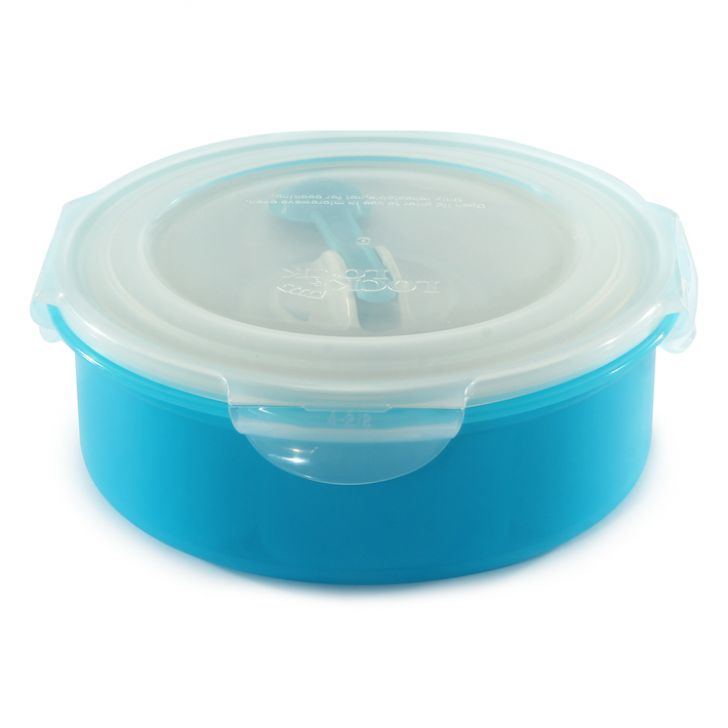 Lock & Lock Clear & Blue Spice Kit,Containers