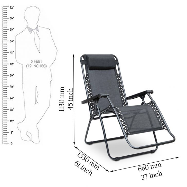 Acer Folding Chair Black,Outdoor Chairs