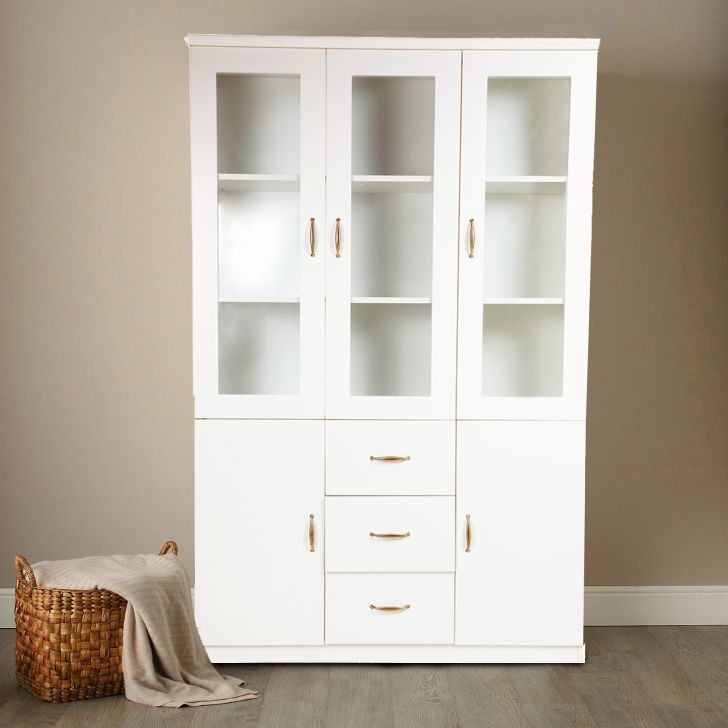Legacy Bookcase in White Color,Book Shelves