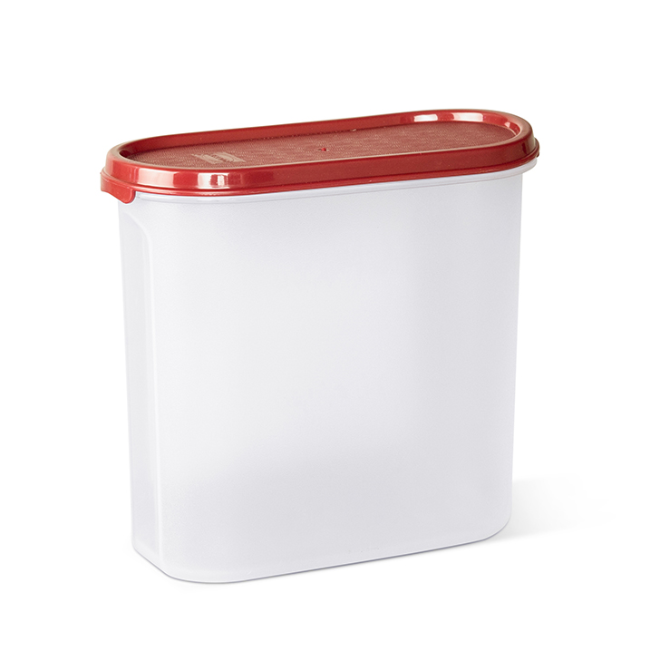 Polyset Magic Seal Container Oval Maroon,Containers