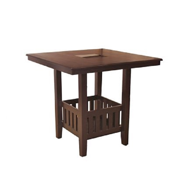 Caren Solidwood 4 Seater Dining Table,4 Seater Dining Table