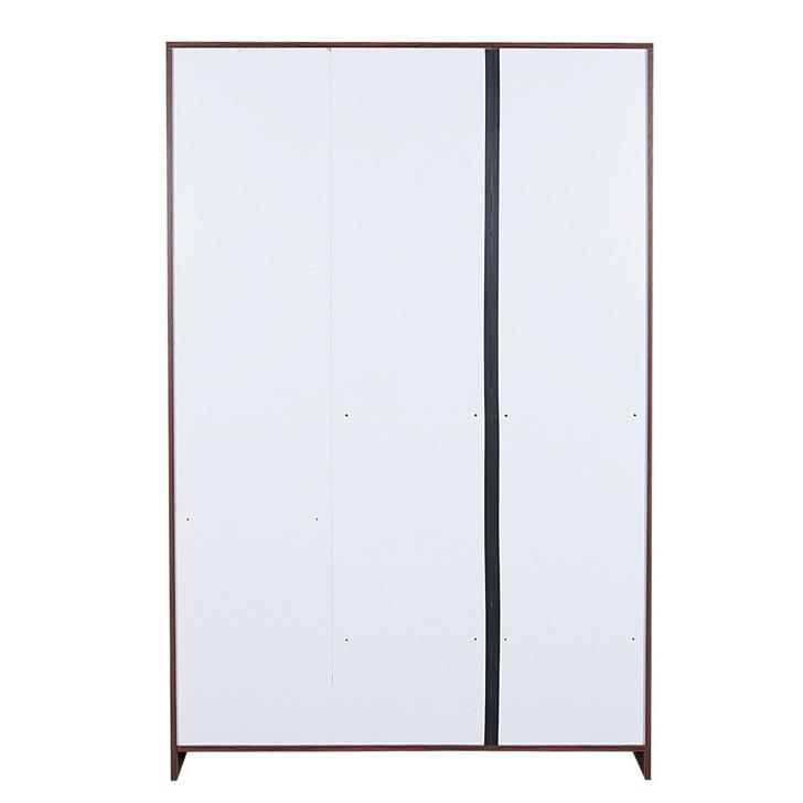 Premier Three Door Wardrobe in Regato Walnut Colour,All Wardrobes