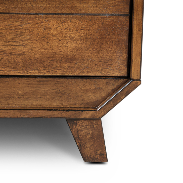 Sterling Bed Side Table Brown,Bedside Tables