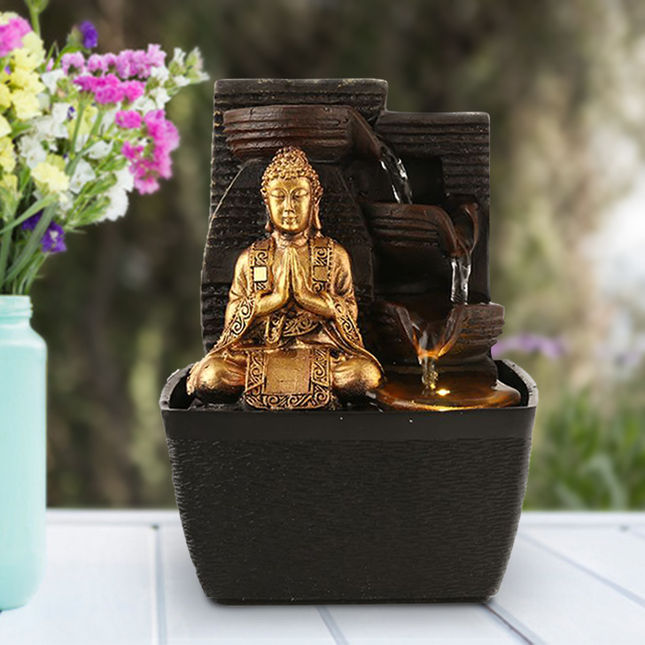 Impression Buddha Pot Fountain,Indoor Fountains