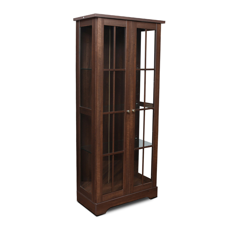 Holly Bookcase in Walnut Colour,Book Shelves
