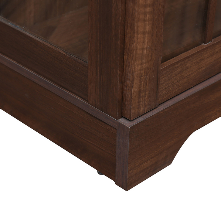 Holly Book Case Walnut,Furniture