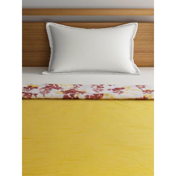 Single Dohar Dew Dreams Yellow Orange,Dohars