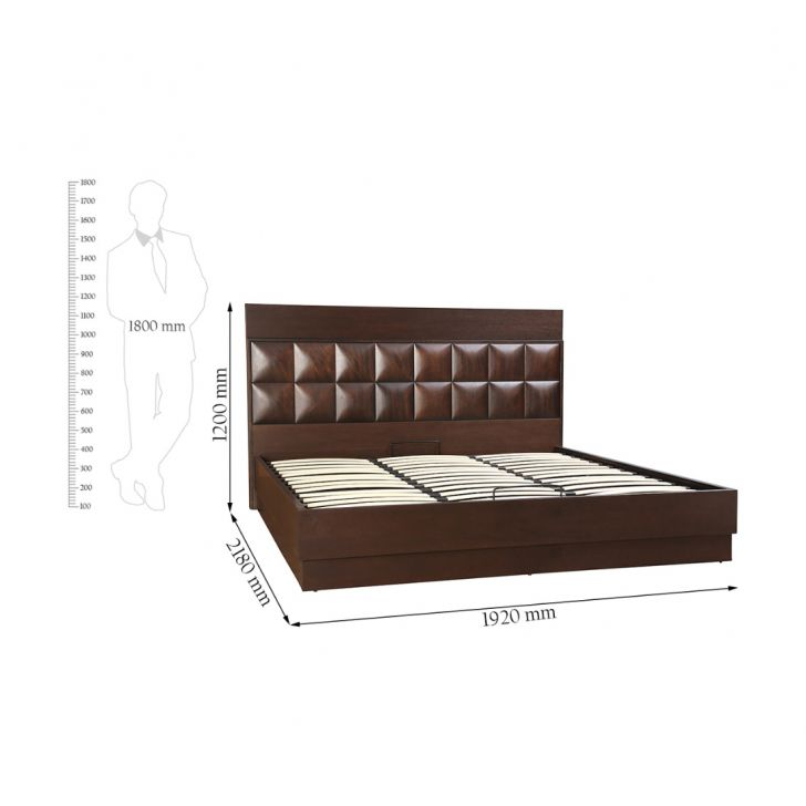 Empire King Bed With Hydraulic Storage,Hydraulic Beds