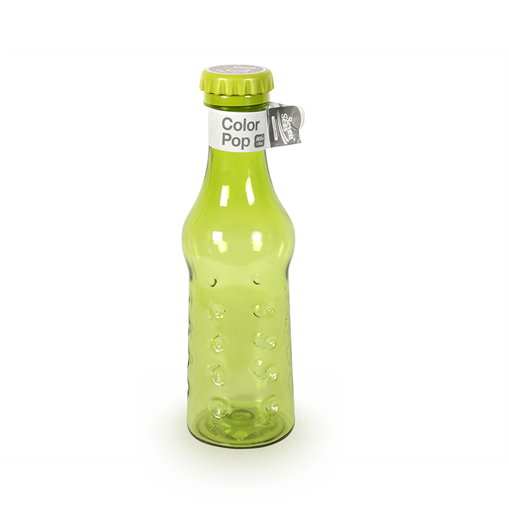 Living Essence Pop Green Bottle 600 ml,Bottles