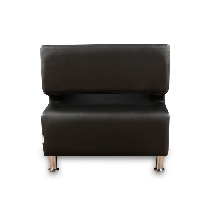 Arrow One Seater Sofa in Black Colour,Sofas & Sectionals